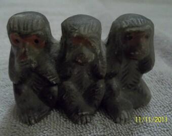 hear, see ,speak no evil monkeys