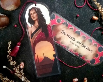 The Wrath and the Dawn Bookmark - Homemade