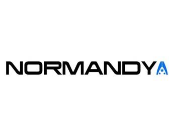 Normandy SR2 Logo Mass Effect Vinyl Decal for Car/Laptop