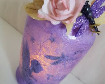Fairy Lantern / children's night light / upcycled jar / can be custom made