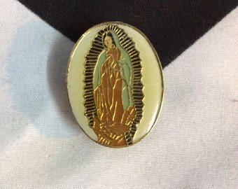 Virgin De Guadalupe enamel pin