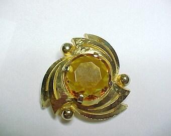 Vintage Gold tone Sphinx Brooch