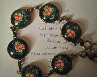 """Bracelet """"flowers"""""""