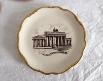 "Brandenberg Gate Berlin Plate Lindner Bavaria Germany 5-7/8"""
