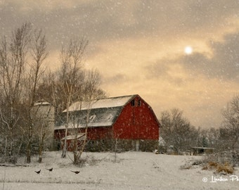 Snow Day Barn # 152