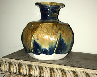 Mayhew Signed Pottery Vintage Bud Vase Beersheba Tennessee