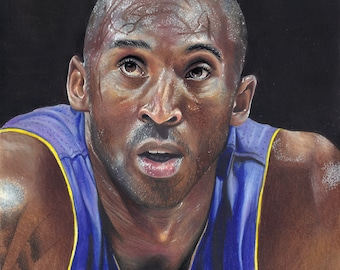 Kobe Bryant Original Art Prints