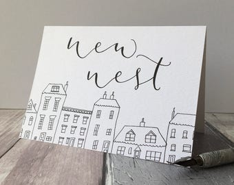 New Nest housewarming card