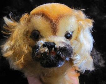 """Steiff Mohair """"Peky"""" Pekingese dog"""