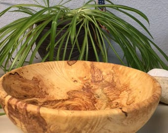 Wood Burl Bowl