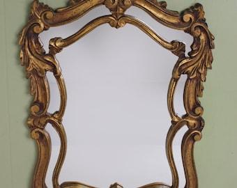 Vintage Florentine Mirror by Hamilton of Indiana