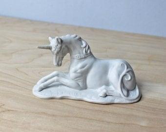 Vintage Unicorn Figurine