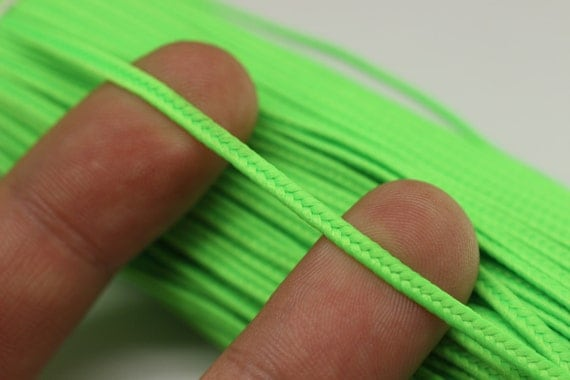 Soutache Cord - Neon Green Braid Cord