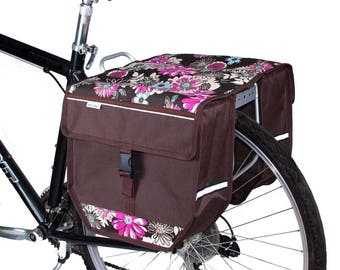 Double Pannier Bag Bicycle Cycle Bike