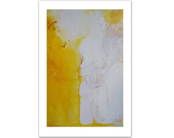 Yellow Painting, Abstract Original Painting, Abstract Art, Original Art, Acrylic Painting, Modern Minimalist Painting Christmas Gift Ideas