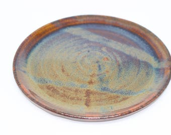 Plate 22, Handmade pottery, Contemporary abstract style