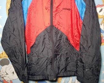 Adidas Vintage Zip Up Windbreaker Jumper M