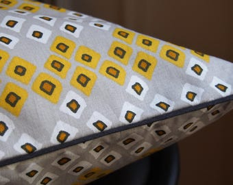 Wallet with cotton piping Cushion cover 40 x 40 cm