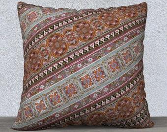 Cushion Cover // Pillow Case // Marrakech // Moroccan // unusual // colourful // design