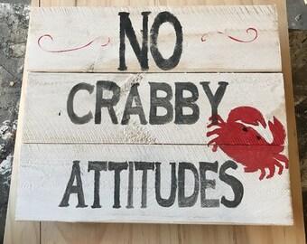 Crabby attitudes
