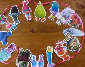 Trolls  Movie Bunting