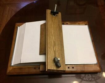 Custom Split Book Press for Edge Painting...