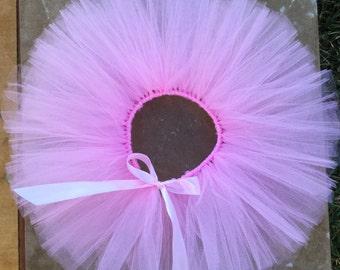 Light Pink Tutu for Newborn baby girl