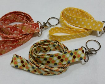 Lanyard - 3 fabric choice