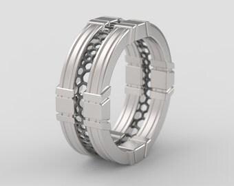Star Trek Wedding  Etsy. Niobium Engagement Rings. Plastic Bottle Rings. Fun Engagement Engagement Rings. Canary Diamond Wedding Rings. Bead Rings. Odd Shaped Wedding Rings. Mia Engagement Rings. Yellowstone Rings