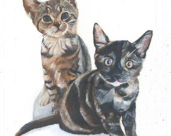 Custom Pet Portrait (one pet)