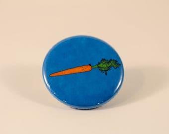 Shook Carrot Pin/Button