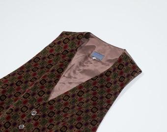 KENZO - velvet cotton vest
