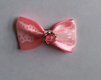 Rose Barrette Pearl