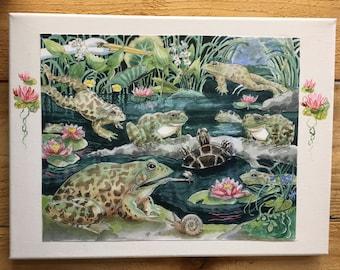 Giant Frog Pond