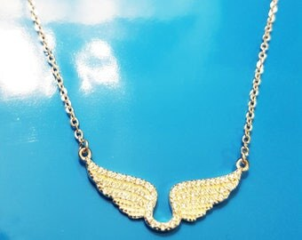Wings Silver Necklace