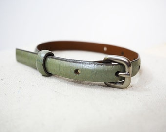 Olive Recycled Bracelet/Cuff for your Scarf