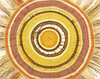 Woven Mat by Patricia Narorrga