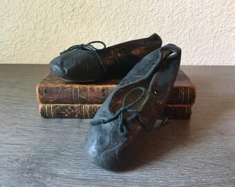 Vintage Child's Capezio Ballet Slippers