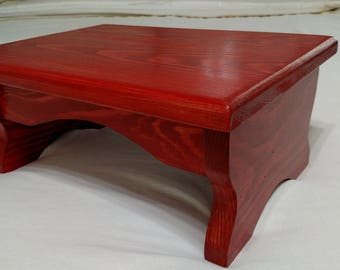 Wood Step Stool 15x11 x8