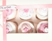 Unique Baby Girl Gift Set Baby Shower Gift Pink Baby Gift Girl Diaper Cake Newborn Gift New Baby Gift Baby Girl Hamper Baby Clothes