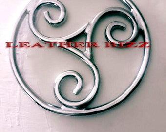 Shibari stainless steel ring