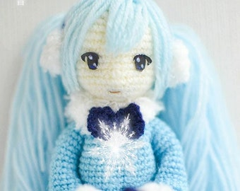 Snow Hatsune Miku Pattern