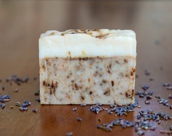 Lavender soap // Pure botanical soap // Natural soap // Handmade soap // Cold Process soap //  Vegan soap // Herbal soap // Essential oils