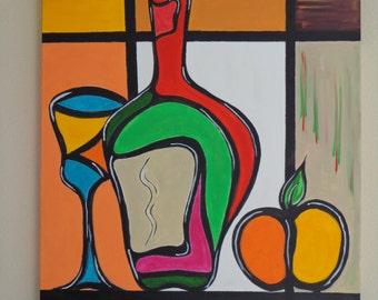 VINO table acrylic paints