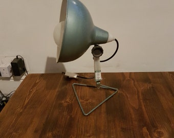 1970s industrial desk lamp: PAT tested