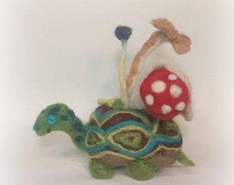 Fungus Shell Turtle