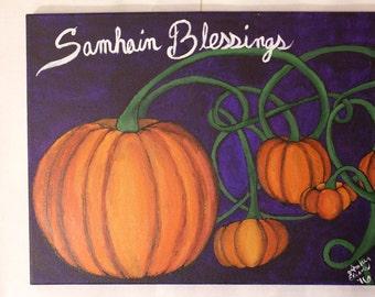 Samhain Blessings Painting