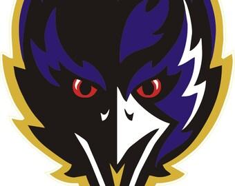 Baltimore Ravens  NFL Decal/Sticker