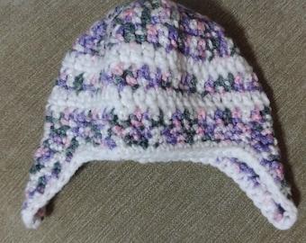 Newborn Ear Flap Hat