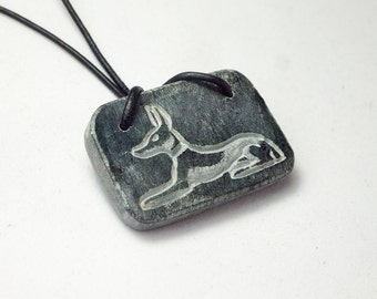 Anubis' Amulet - Egyptian jewelry, egyptian necklace